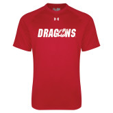 Under Armour Red Tech Tee-Dragons