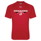 Under Armour Red Tech Tee-Football Design