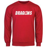 Red Fleece Crew-Dragons