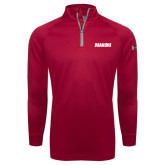 Under Armour Red Tech 1/4 Zip Performance Shirt-Dragons