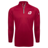 Under Armour Red Tech 1/4 Zip Performance Shirt-Dragon Mark