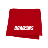 Red Sweatshirt Blanket-Dragons