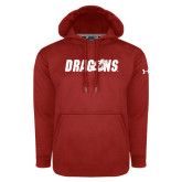 Under Armour Red Performance Sweats Team Hoodie-Dragons