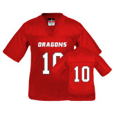 Youth Replica Red Football Jersey-#10