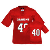 Youth Replica Red Football Jersey-#40