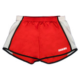 Ladies Red/White Team Short-Dragons