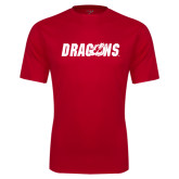Syntrel Performance Red Tee-Dragons