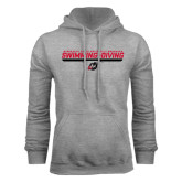 Grey Fleece Hoodie-Swimming & Diving Design