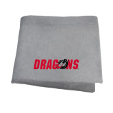 Grey Sweatshirt Blanket-Dragons