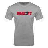 Grey T Shirt-Dragons