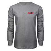 Grey Long Sleeve T Shirt-Dragons