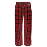 Red/Black Flannel Pajama Pant-Dragons