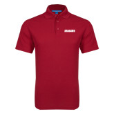 Red Dry Zone Grid Polo-Dragons