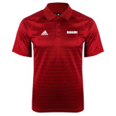 Adidas Climalite Red Jaquard Select Polo-Dragons