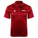 Adidas Climalite Red Jaquard Select Polo-Dragons