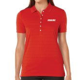 Ladies Callaway Opti Vent Red Polo-Dragons