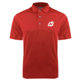 Red Dry Mesh Polo-Dragon Mark