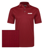 Callaway Red Jacquard Polo-Dragons