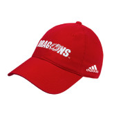 Adidas Red Slouch Unstructured Low Profile Hat-Dragons