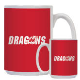 Full Color White Mug 15oz-Dragons