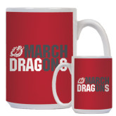 Full Color White Mug 15oz-March On Dragons