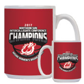 Full Color White Mug 15oz-2017 Northern Sun Intercollegiate Conference Womens Champions