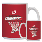 Full Color White Mug 15oz-2017 Northern Sun Intercollegiate Conference Mens Champions