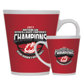Full Color Latte Mug 12oz-2017 Northern Sun Intercollegiate Conference Womens Champions