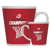 Full Color Latte Mug 12oz-2017 Northern Sun Intercollegiate Conference Mens Champions