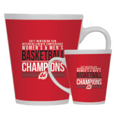 Full Color Latte Mug 12oz-2017 Northern Sun Intercollegiate Conference Men and Women Champions