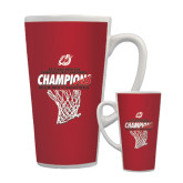 Full Color Latte Mug 17oz-2017 Northern Sun Intercollegiate Conference Mens Champions