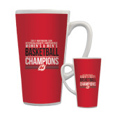 Full Color Latte Mug 17oz-2017 Northern Sun Intercollegiate Conference Men and Women Champions