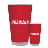 Full Color Glass 17oz-Dragons