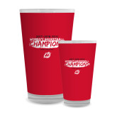 Full Color Glass 17oz-2018 Womens Basketball Champions