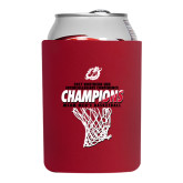 Collapsible Red Can Holder-2017 Northern Sun Intercollegiate Conference Mens Champions
