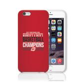 iPhone 6 Phone Case-2017 Northern Sun Intercollegiate Conference Men and Women Champions