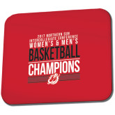 Full Color Mousepad-2017 Northern Sun Intercollegiate Conference Men and Women Champions