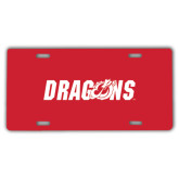 License Plate-Dragons