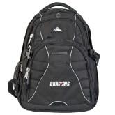 High Sierra Swerve Black Compu Backpack-Dragons