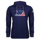 Adidas Climawarm Navy Team Issue Hoodie-Primary Mark