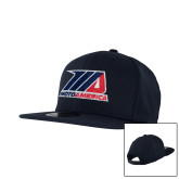 New Era Navy Diamond Era 9Fifty Snapback Hat-Primary Mark