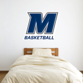 4 ft x 4 ft Fan WallSkinz-Basketball
