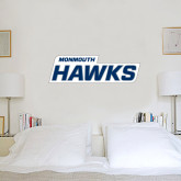 2 ft x 6 ft Fan WallSkinz-Monmouth Hawks