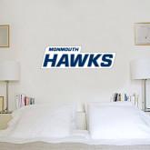 2 ft x 6 ft Fan WallSkinz-Monmouth Hawks