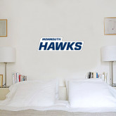 1 ft x 3 ft Fan WallSkinz-Monmouth Hawks