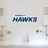2.5 ft x 6.5 ft Fan WallSkinz-Monmouth Hawks