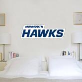 2.5 ft x 6.5 ft Fan WallSkinz-Monmouth Hawks