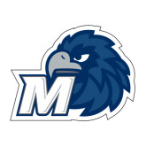 Medium Decal-Hawk with M, 8 in W