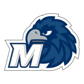 Large Decal-Hawk with M, 12 in W
