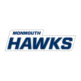 Large Decal-Monmouth Hawks, 12 in W